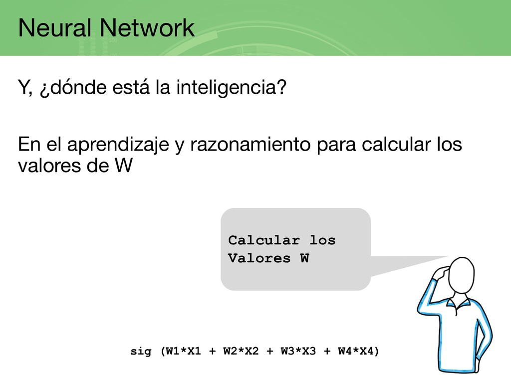 Neural Network Y, ¿dónde está la inteligencia? ...