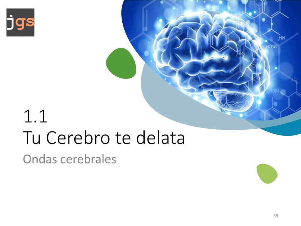 1.1 Tu Cerebro te delata Ondas cerebrales 38