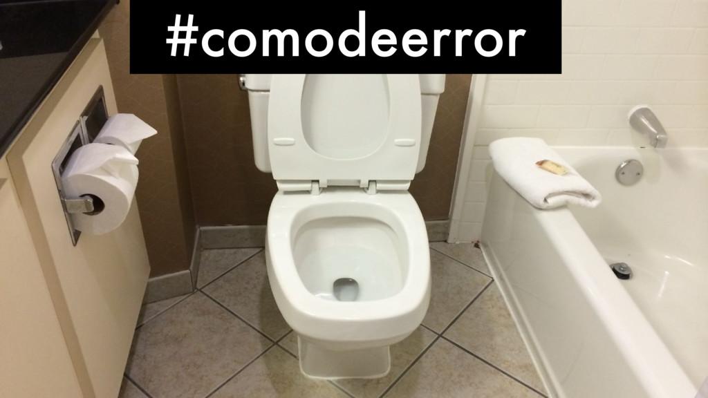 #comodeerror