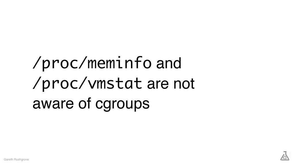 /proc/meminfo and /proc/vmstat are not aware of...