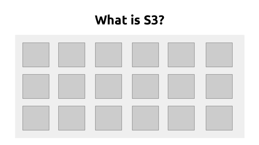 What is S3?