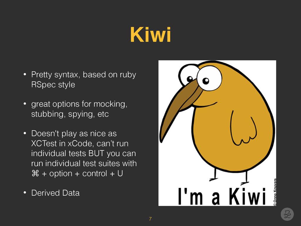 Kiwi • Pretty syntax, based on ruby RSpec style...