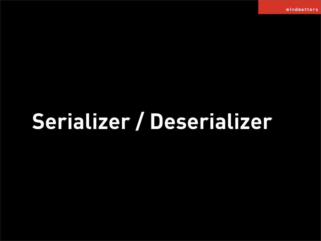 Serializer / Deserializer