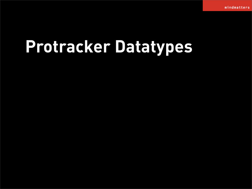 Protracker Datatypes