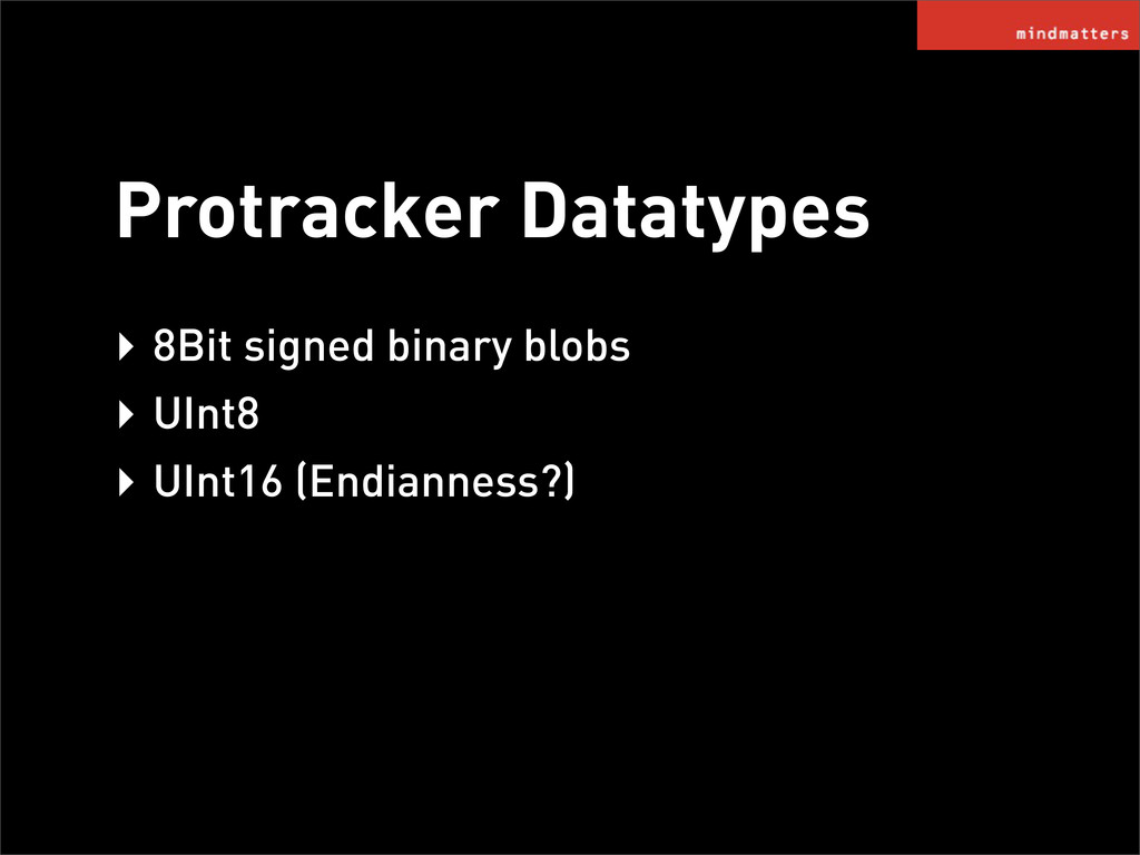 Protracker Datatypes ‣ 8Bit signed binary blobs...