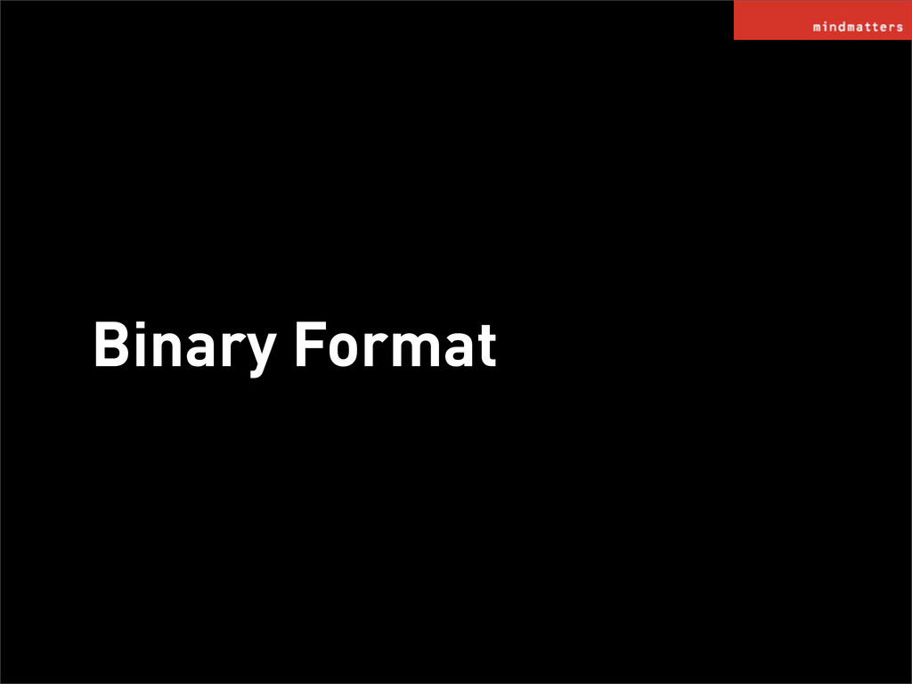 Binary Format