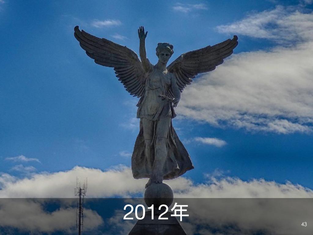 2012年 43