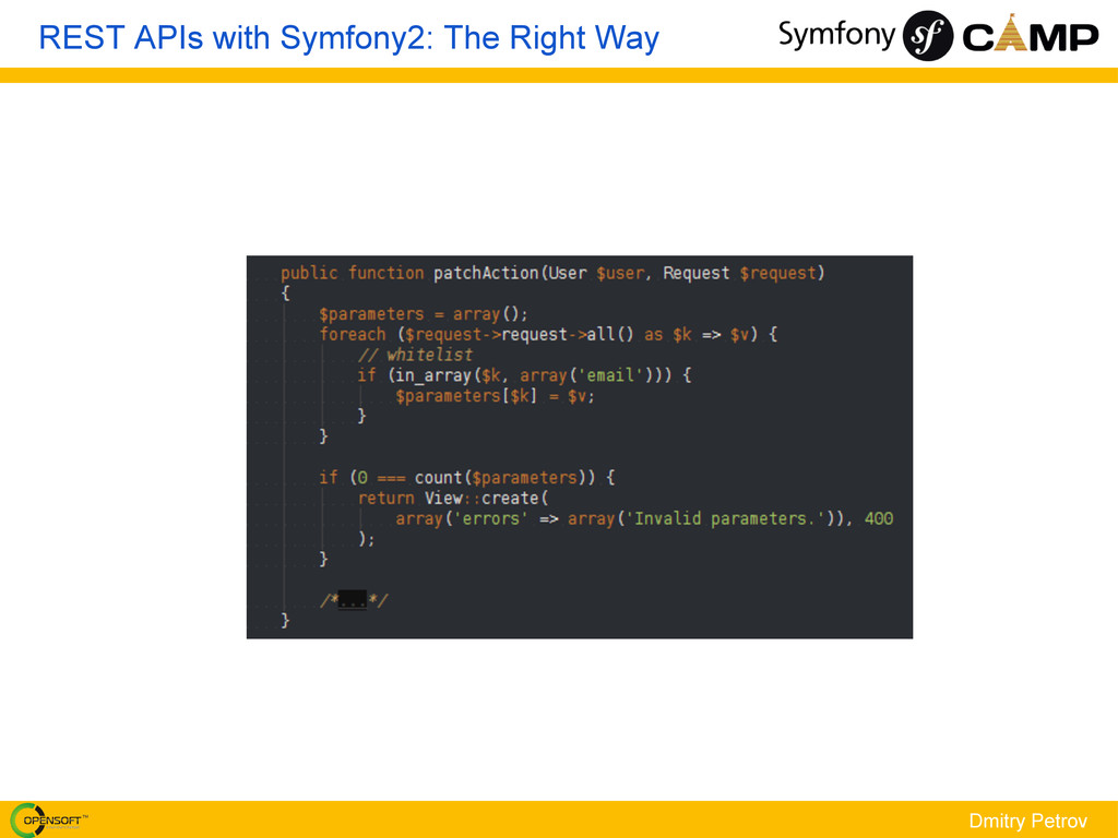 Dmitry Petrov REST APIs with Symfony2: The Righ...