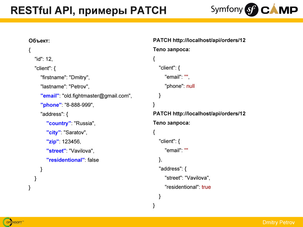 Dmitry Petrov PATCH http://localhost/api/orders...
