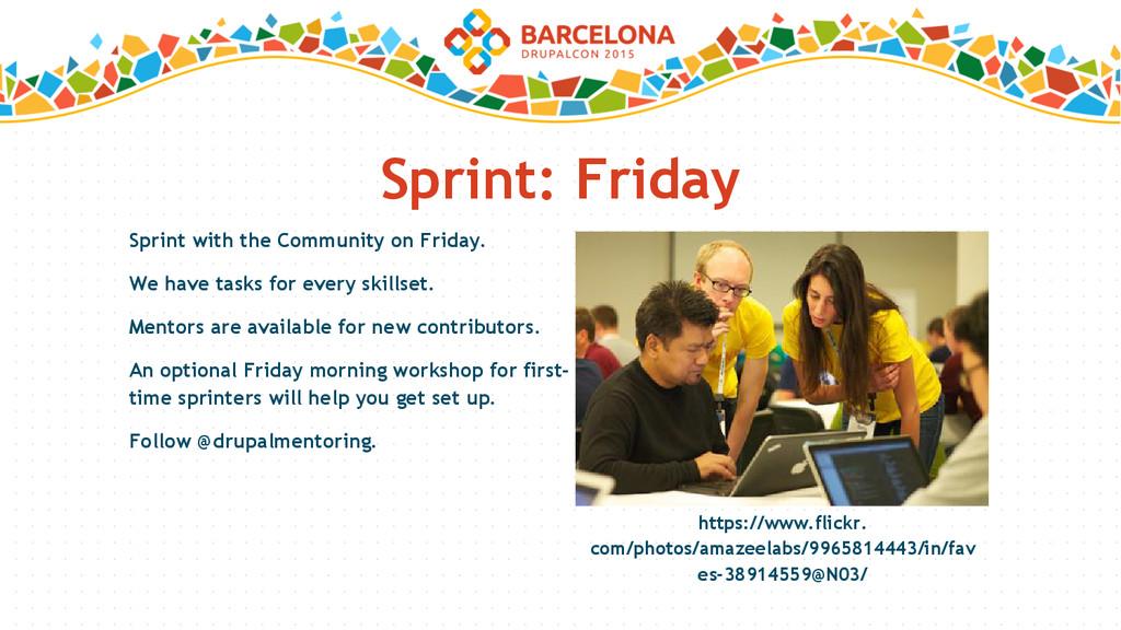 Sprint: Friday https://www.flickr. com/photos/a...