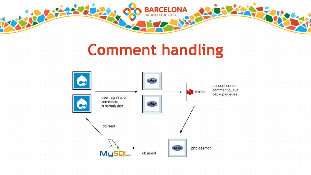 Comment handling