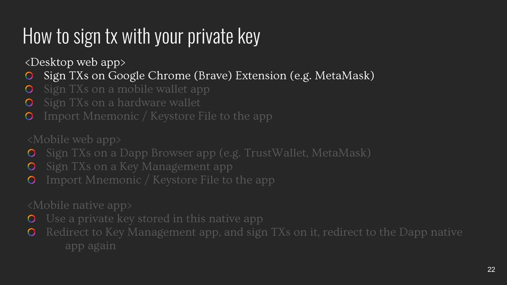 <Desktop web app> Sign TXs on Google Chrome (Br...