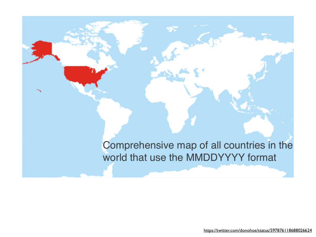 Comprehensive map of all countries in the world...