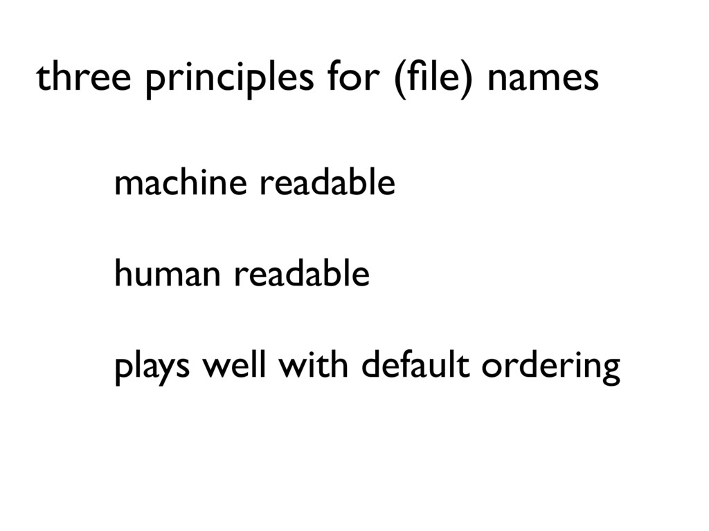 machine readable human readable plays well with...