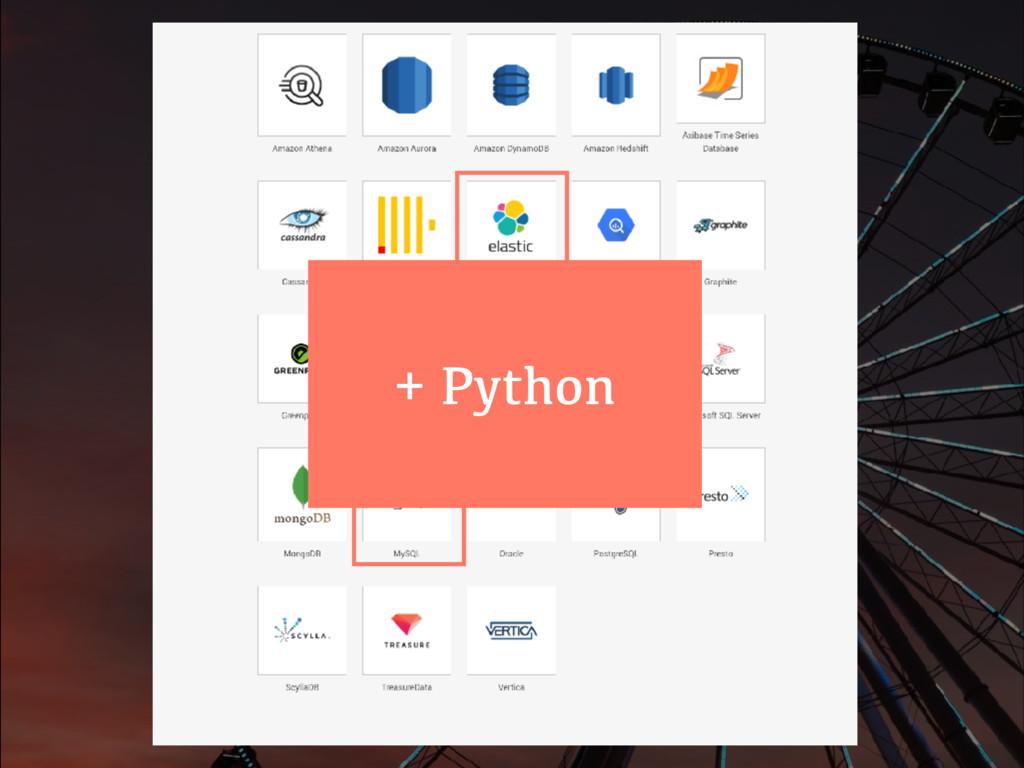+ Python