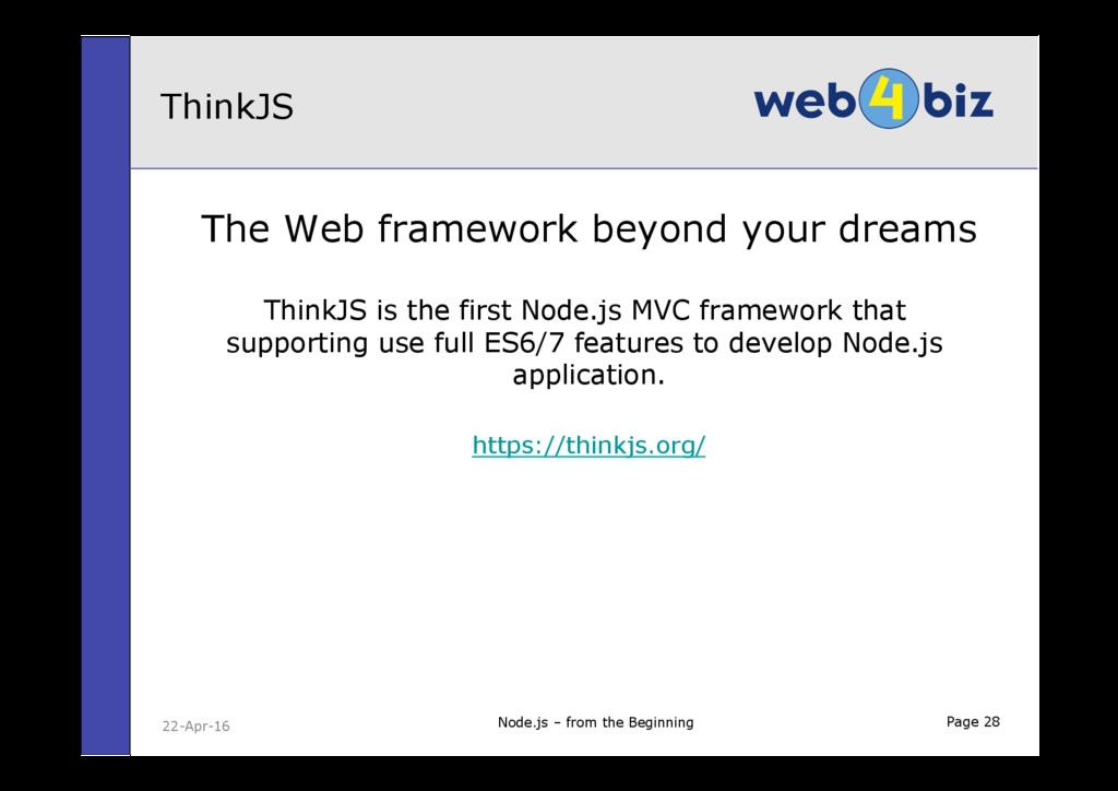 Page 28 The Web framework beyond your dreams Th...
