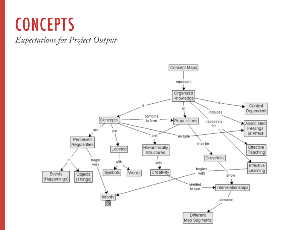 CONCEPTS Expectations for Project Output