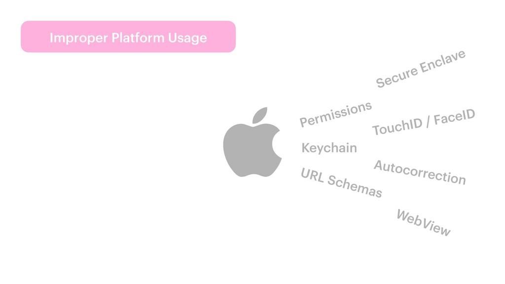 Improper Platform Usage Permissions TouchID / F...