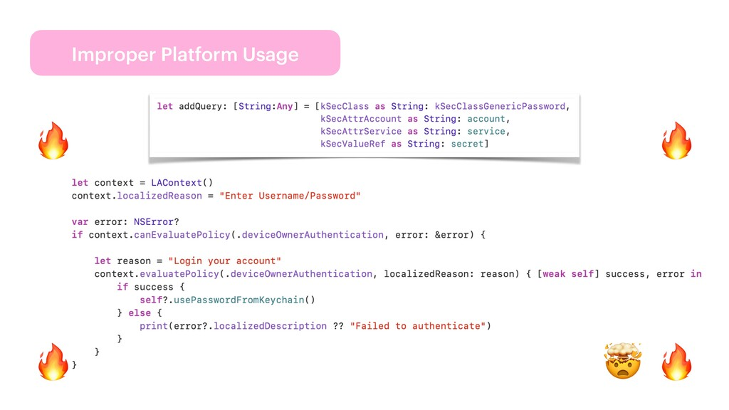 Improper Platform Usage 🔥 🔥 🔥 🤯 🔥