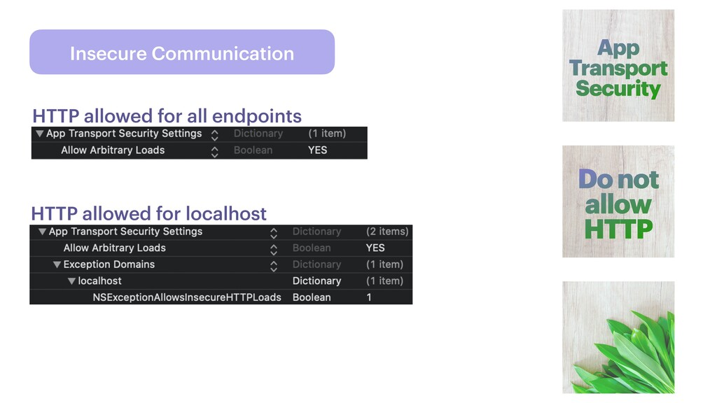 Insecure Communication App Transport Security D...