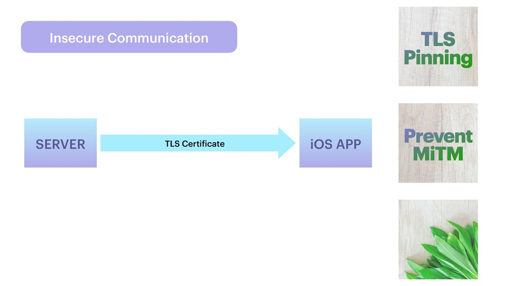 Insecure Communication TLS Pinning Prevent MiTM...