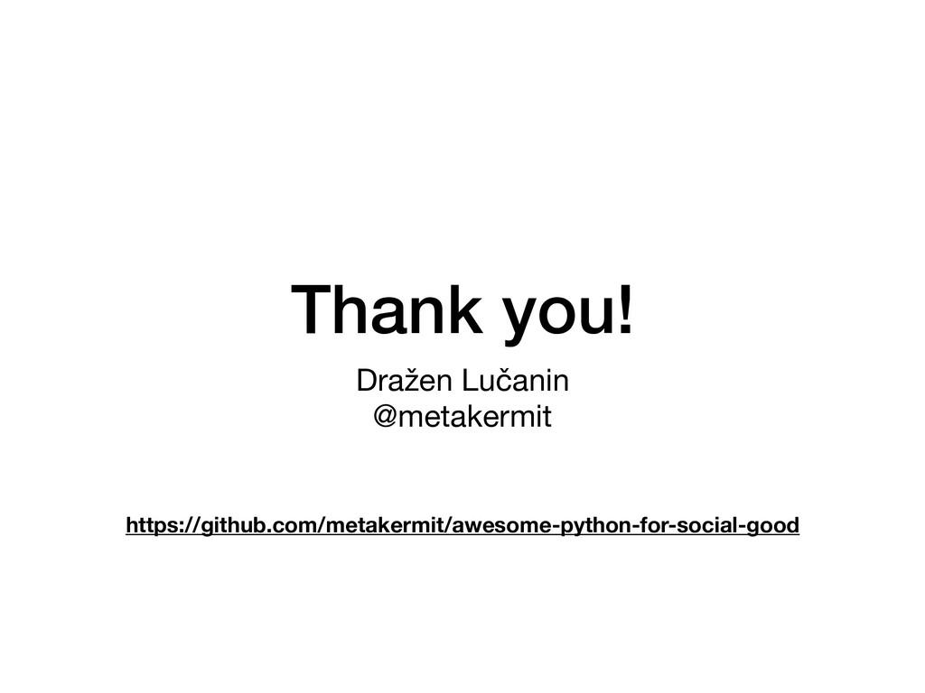 Thank you! Dražen Lučanin  @metakermit https://...