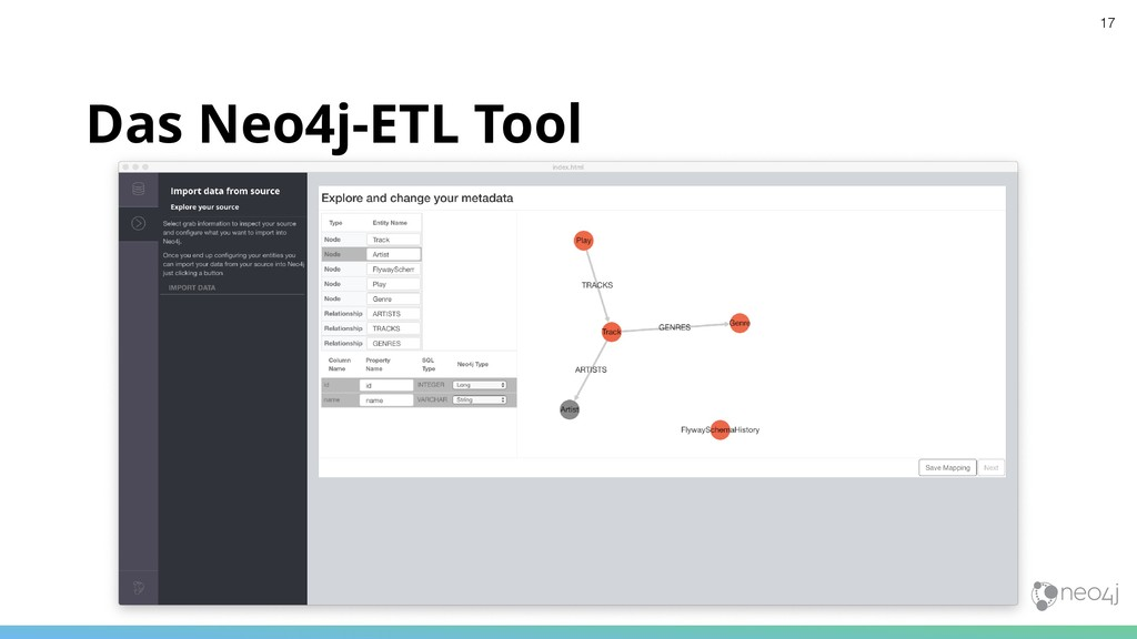 Das Neo4j-ETL Tool 17