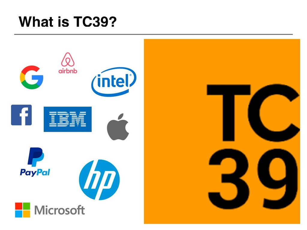 What is TC39?