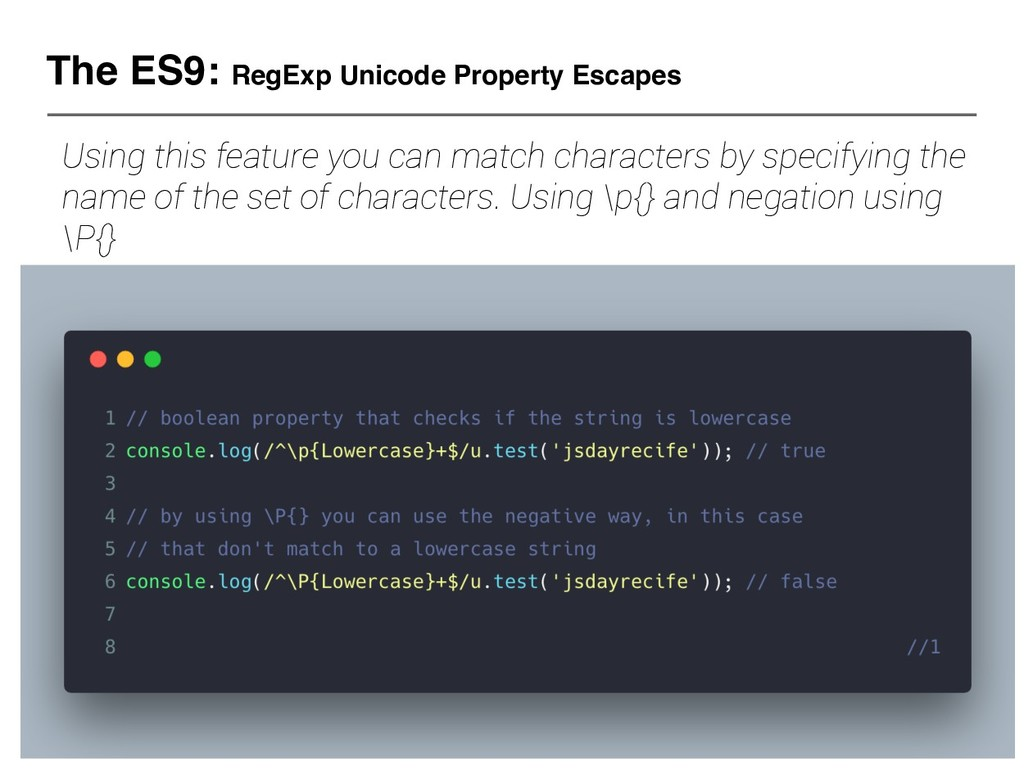 The ES9: RegExp Unicode Property Escapes Using ...
