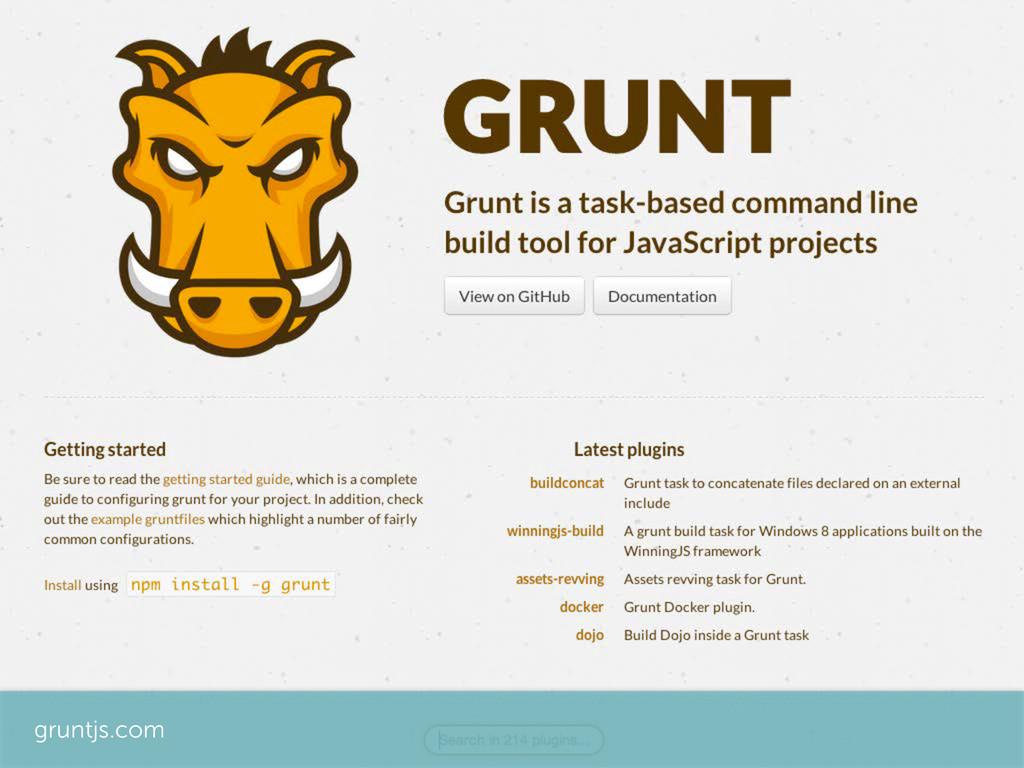 gruntjs.com