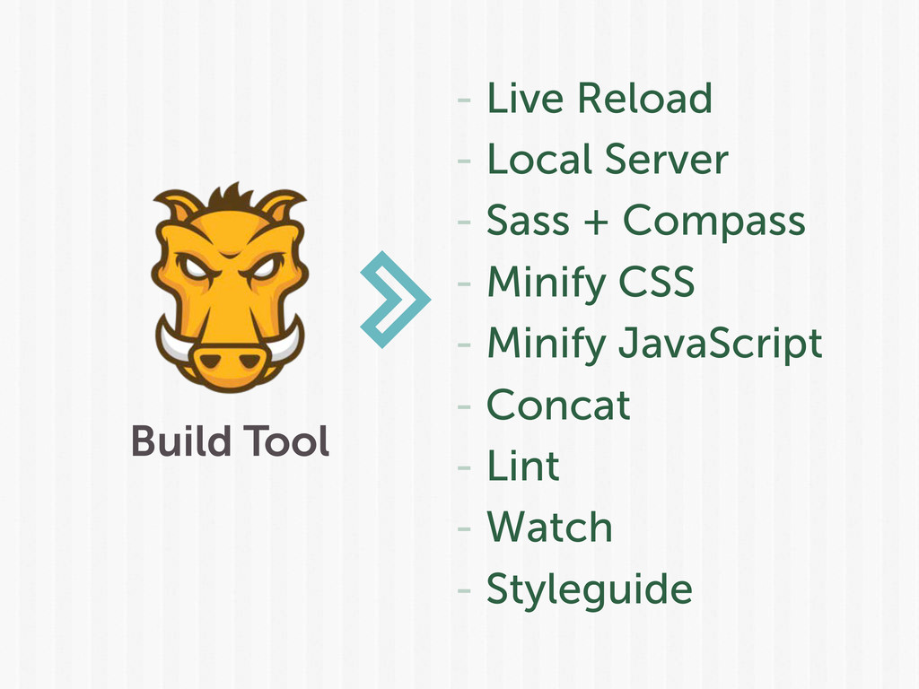 Build Tool - Live Reload - Local Server - Sass ...