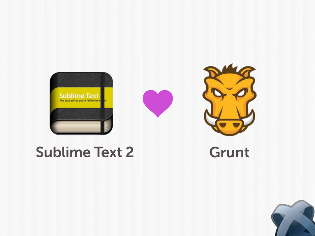 Sublime Text 2 Grunt