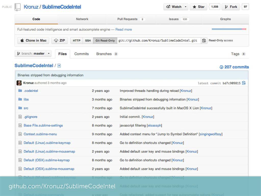github.com/Kronuz/SublimeCodeIntel