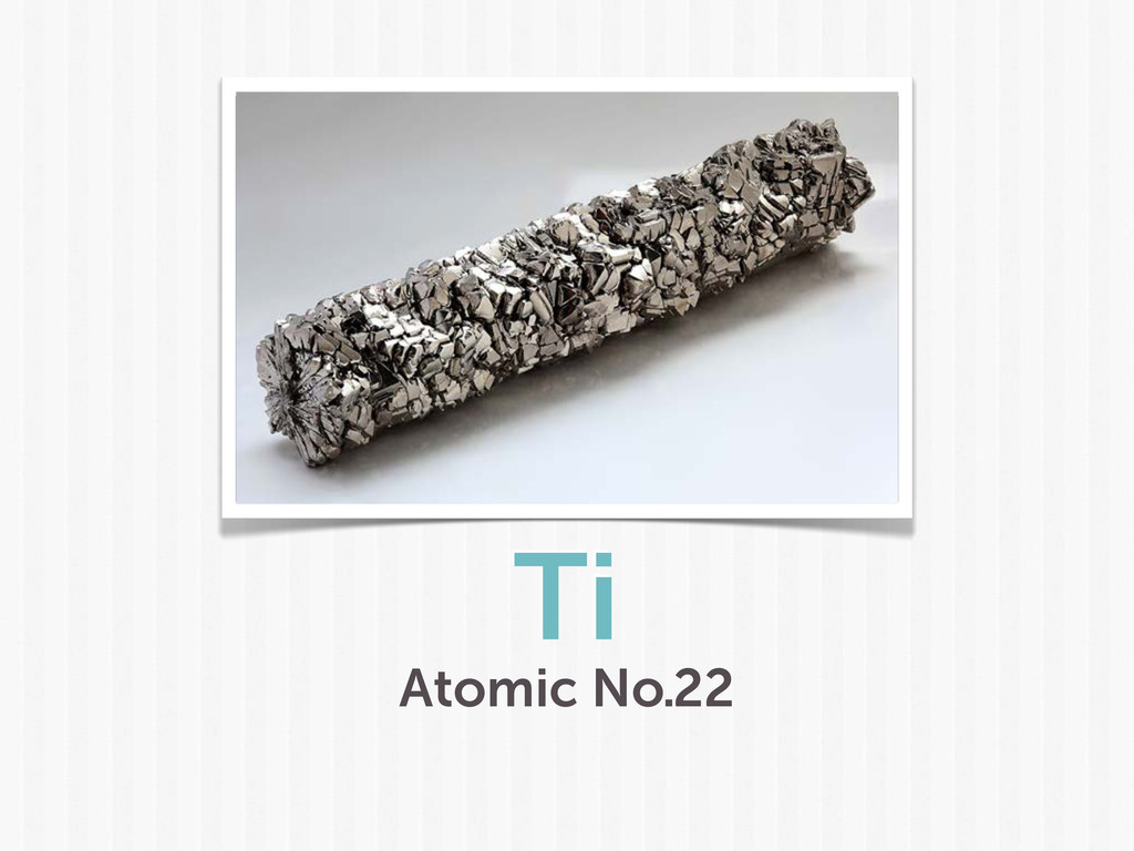 Ti Atomic No.22