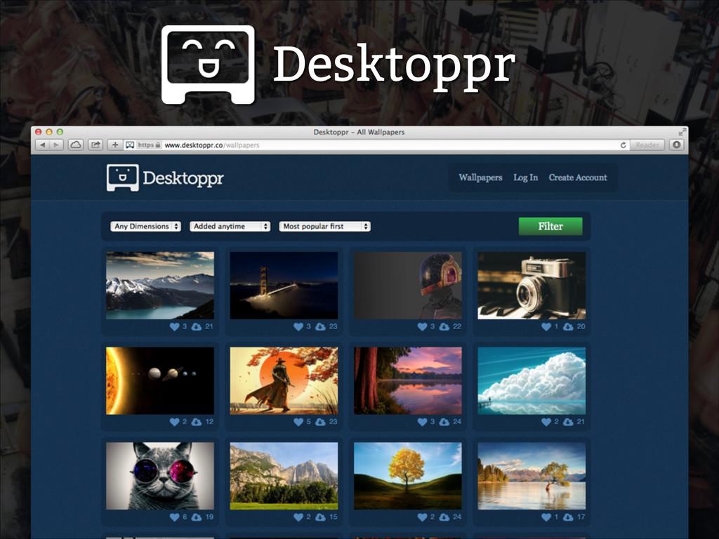 Desktoppr