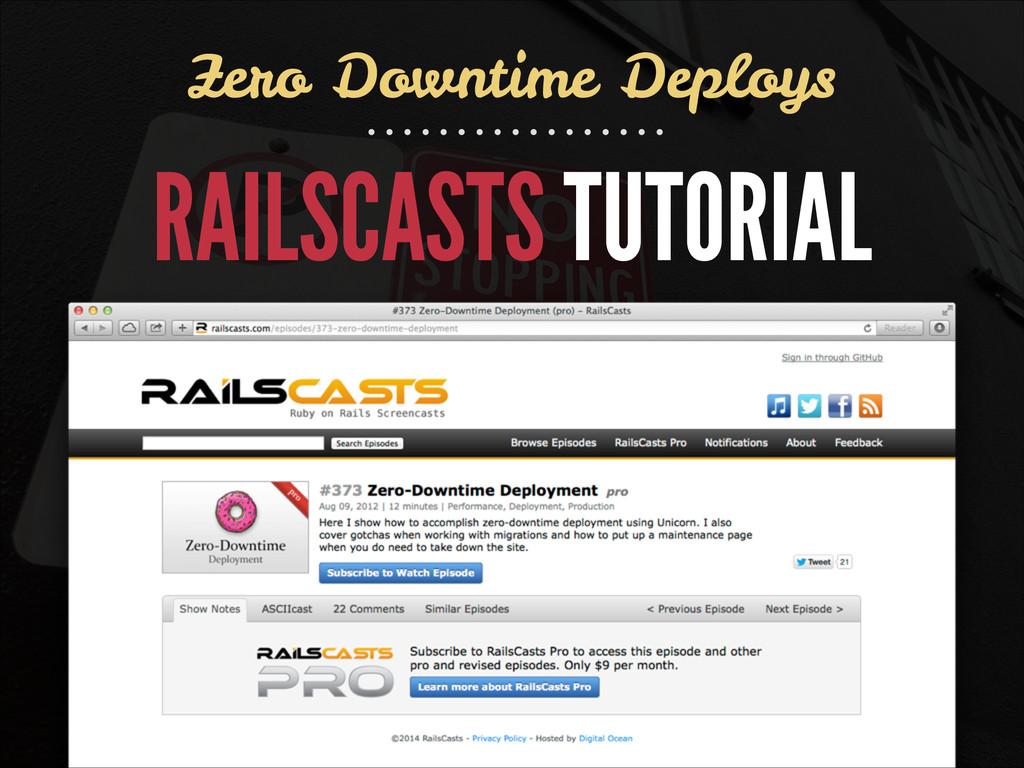 RAILSCASTS TUTORIAL Zero Downtime Deploys