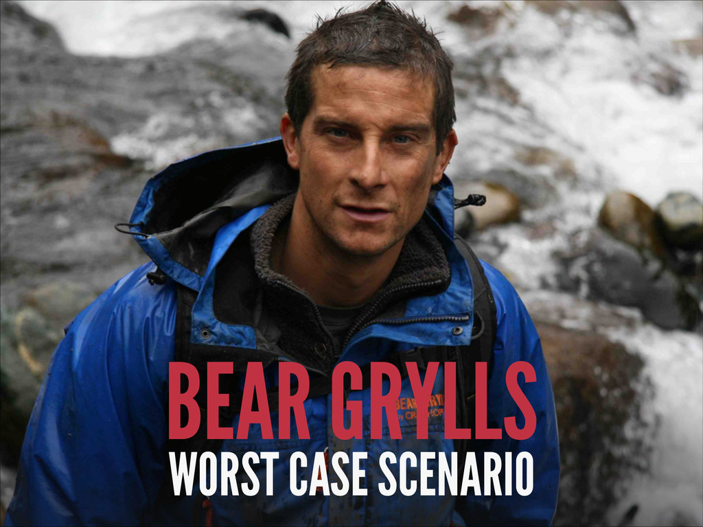 BEAR GRYLLS WORST CASE SCENARIO