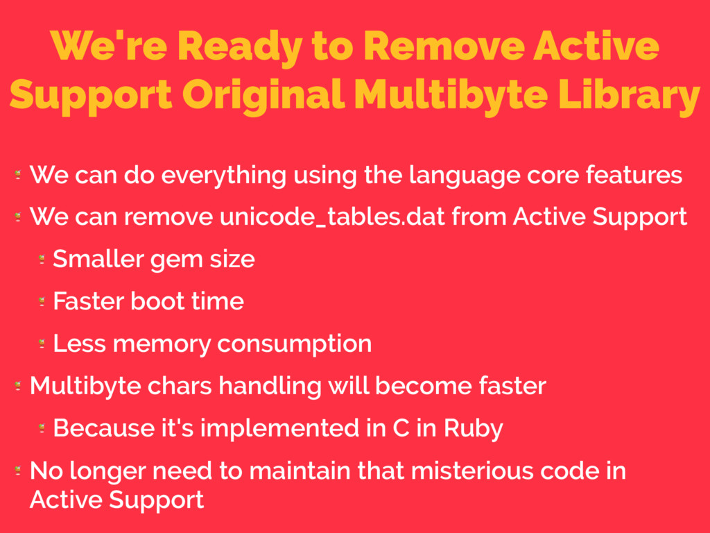 We're Ready to Remove Active Support Original M...