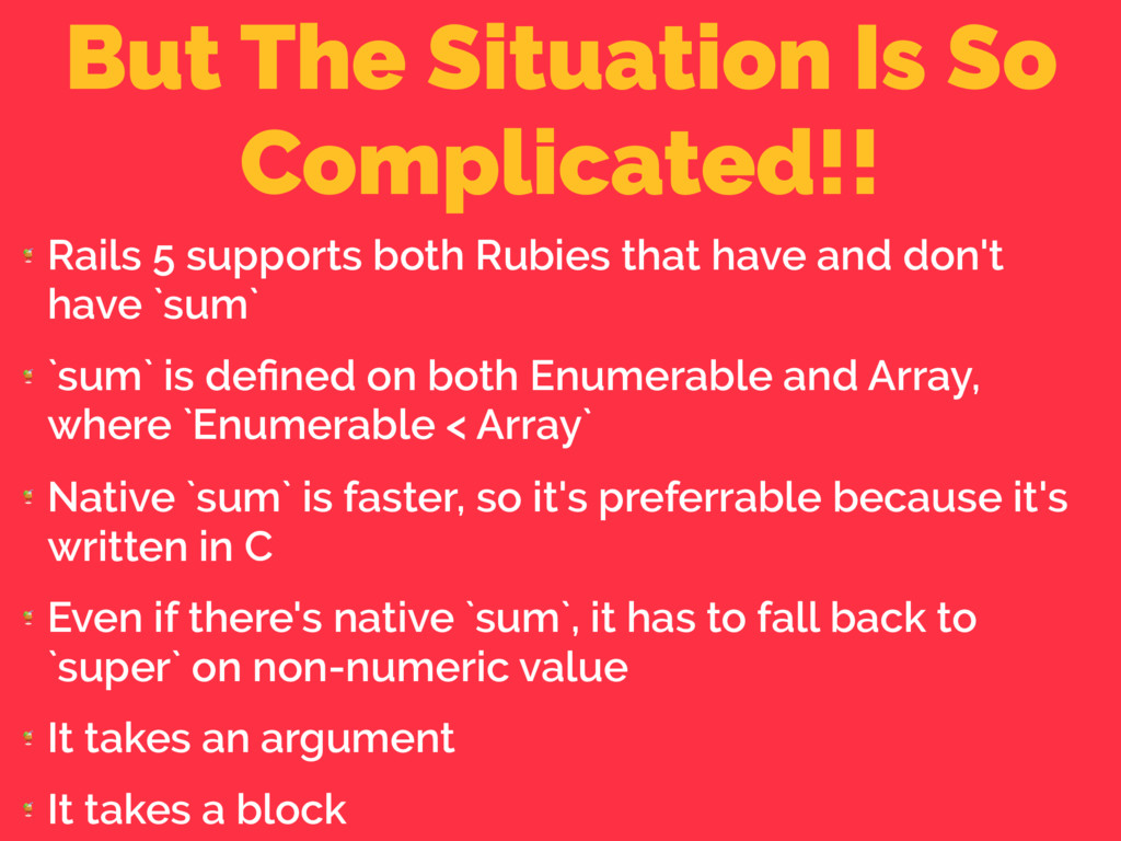 But The Situation Is So Complicated!!  Rails 5 ...