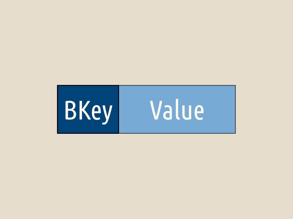 BKey Value