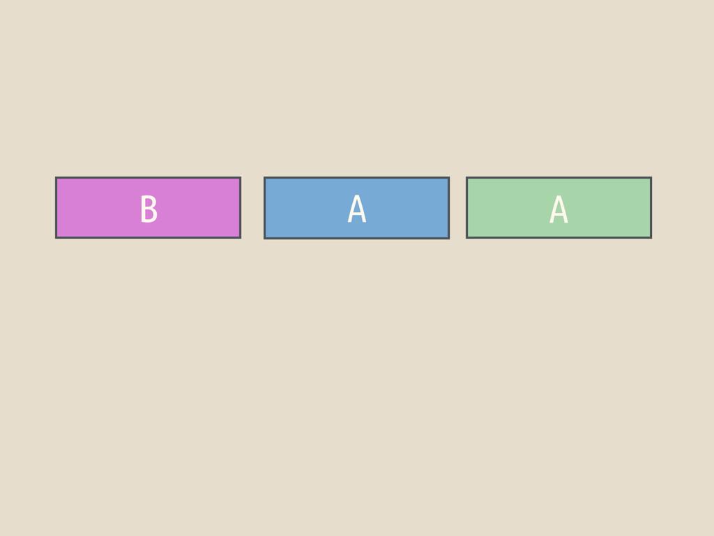 B A A