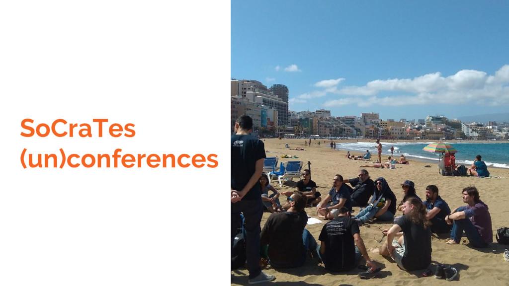 SoCraTes (un)conferences