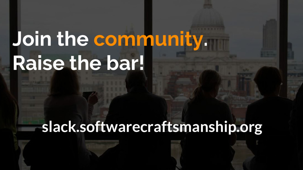 Join the community. Raise the bar! slack.softwa...
