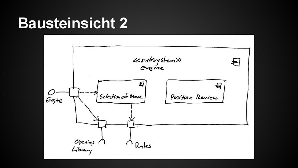 Bausteinsicht 2