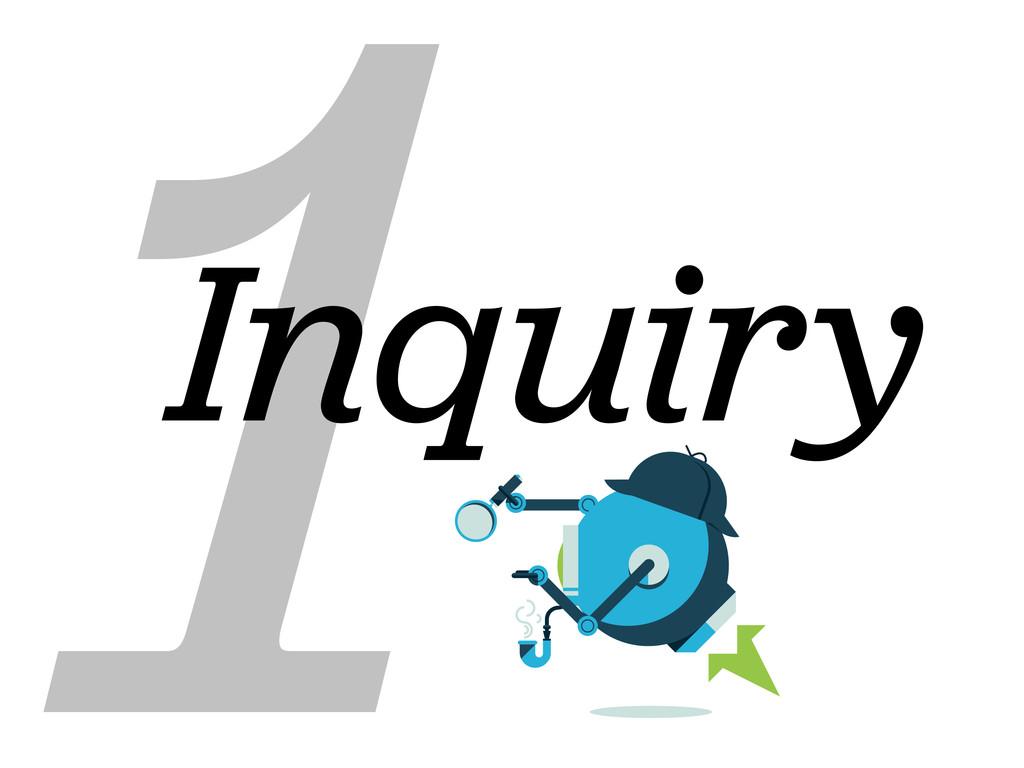 1 Inquiry