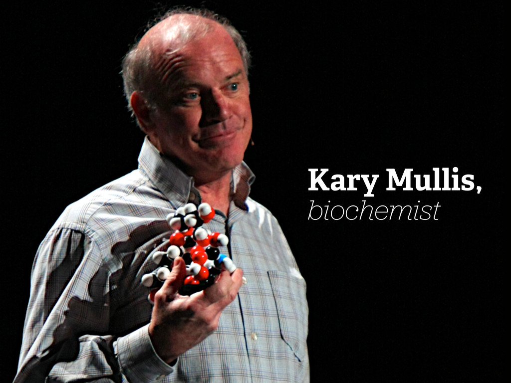 Kary Mullis, biochemist