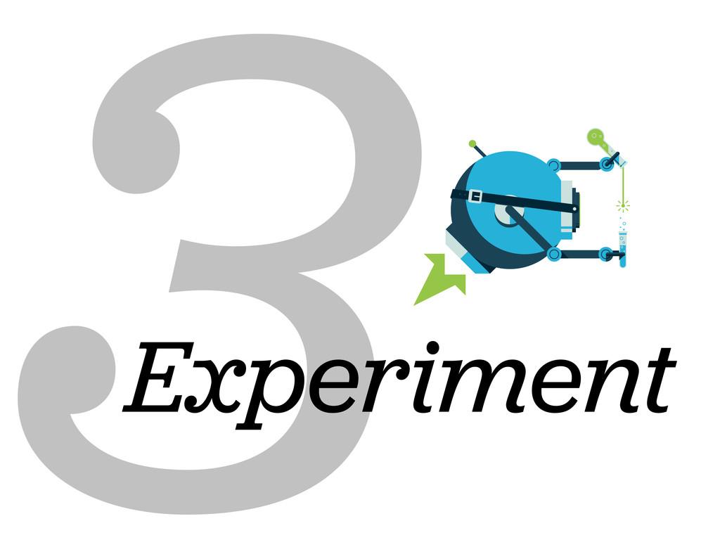 3 Experiment