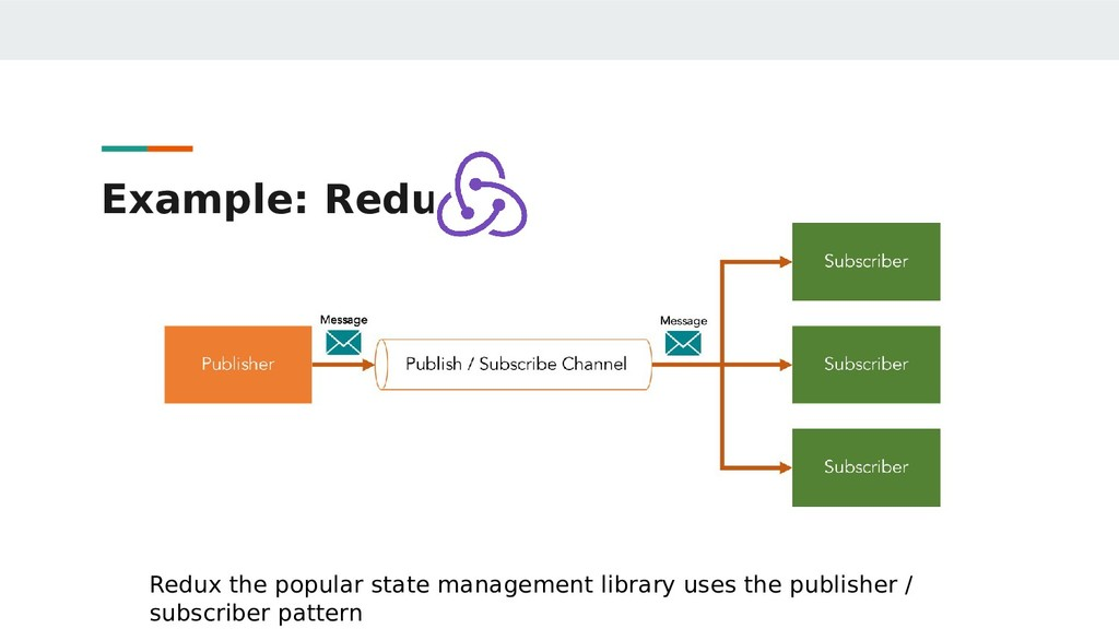 Example: Redux Redux the popular state manageme...