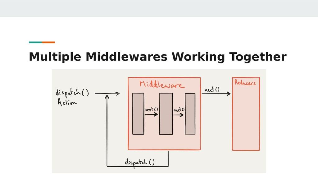 Multiple Middlewares Working Together