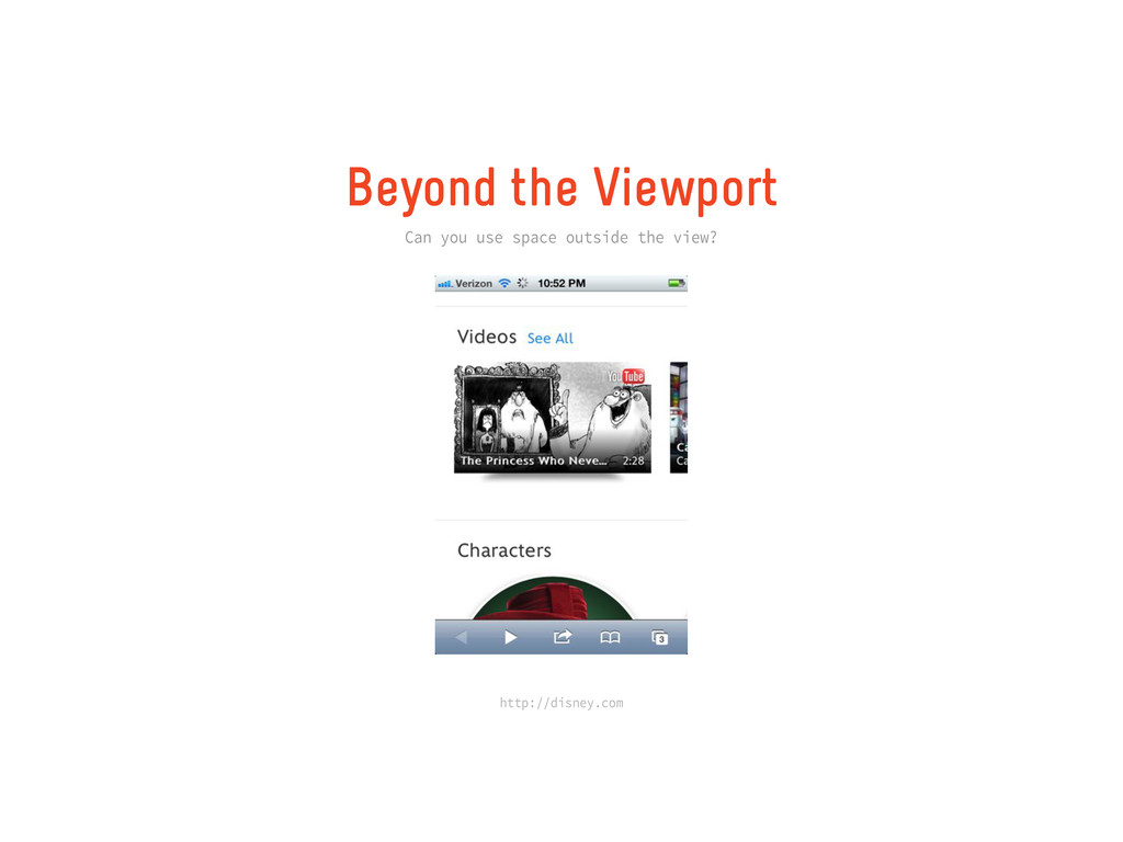 Beyond the Viewport Can you use space outside t...